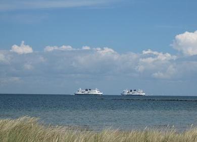 Ferienhof Hopp auf Fehmarn Inselbilder Fähren von und nach Dänemark